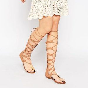 ALDO Woman's Marianne Knee High Gladiator Sandals
